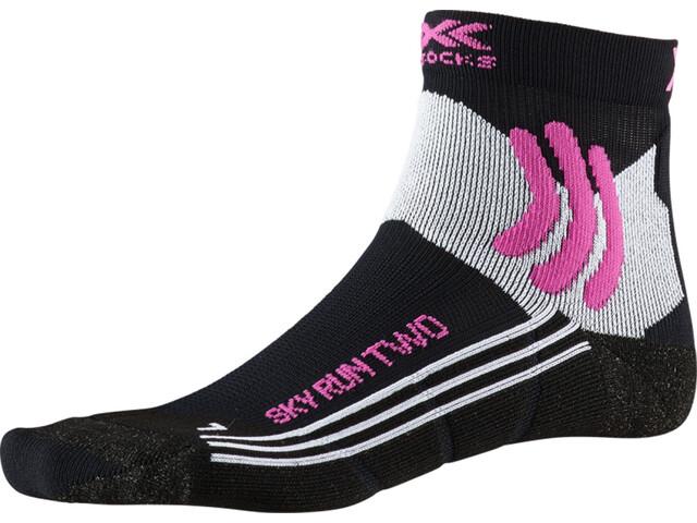 X-Socks Sky Run Two Strømper Damer, black melange